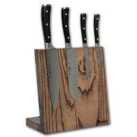 Подставка для ножей Woodinhome магнитная цвет темно-коричневый KS002LSOB