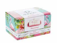 Масленка ENS «Фламинго» 17x12,5x8,5 см PS2520748