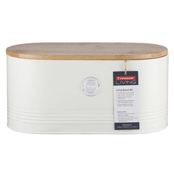 Емкость для хранения хлеба Living кремовая 1400.977V