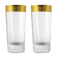 Набор стаканов для воды ZWIESEL 1872 Hommage Gold classic 2 шт 468 мл 120626-2