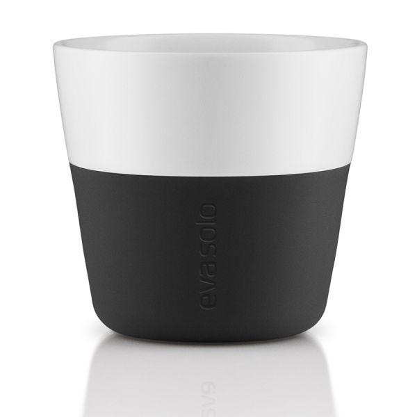 Чашки для лунго 2 шт 230 мл чёрные 501002