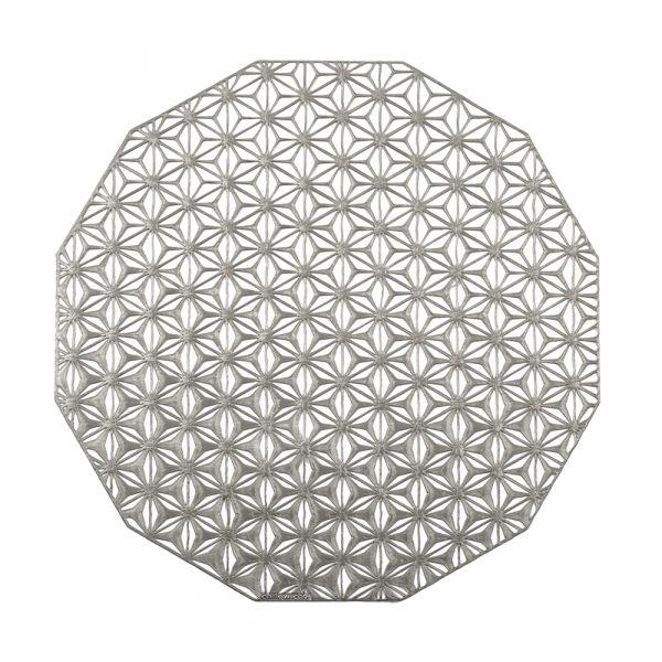 Салфетка Chilewich KALEIDOSCOPE подстановочная материал винил 36 см Gunmetal 100488-001