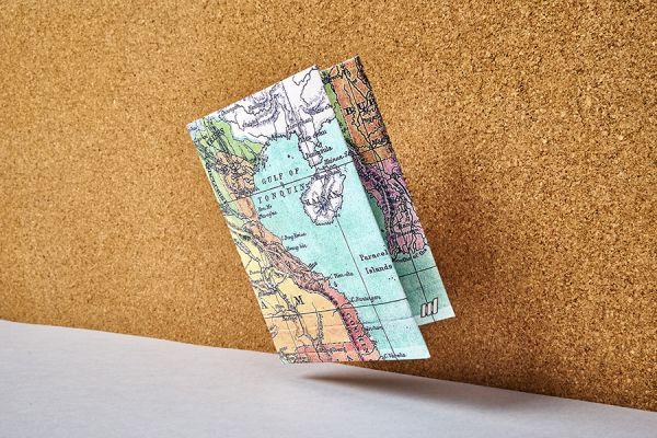 Обложка на паспорт NEW WALLET- new Voyager; сделан из Tyvek® NC-011