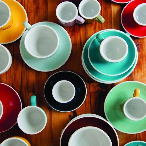 Кофейная пара LOVERAMICS 80 мл цвет голубая река C087-53BBL/C087-54BBL
