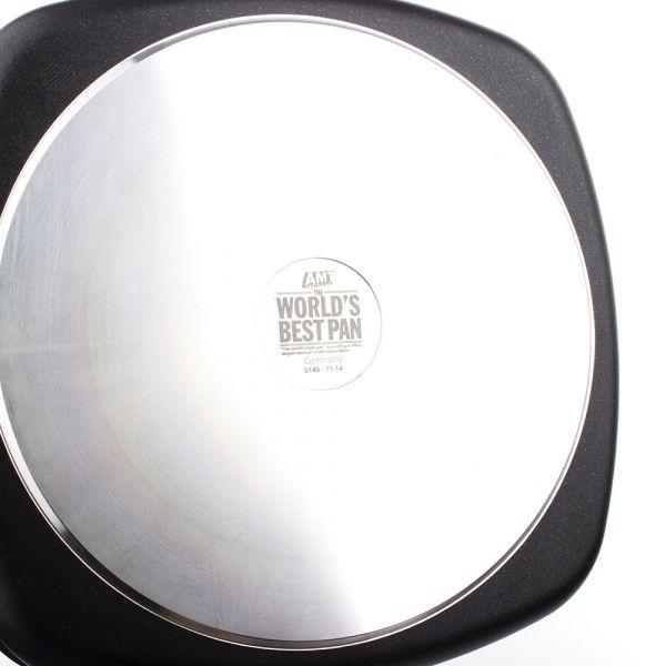 Сковорода гриль 28*28 см AMT Frying Pans со съемной ручкой, AMT E285BBQ