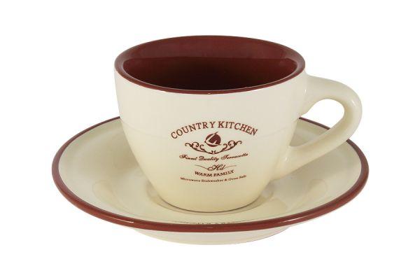 Чашка с блюдцем Кухня в стиле Кантри, TLY314S2-CK-AL