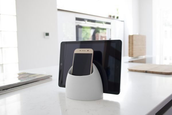 Органайзер настольный Hub tech tidy цвет светло-серый JMEHUB-GRY