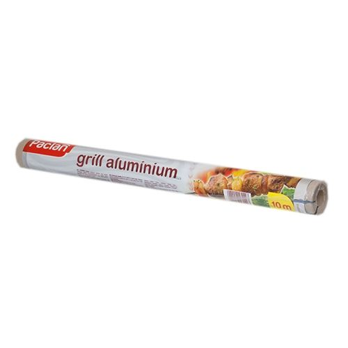 Фольга алюминиевая для гриля 10м*45 см в рулоне (134052)