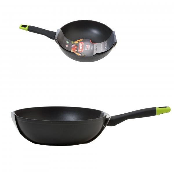 Сковорода ВОК 28 см OPTIMA с индукционным дном