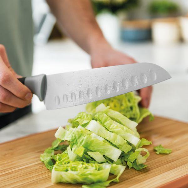 Нож Сантоку BergHOFF Leo 17 см цвет серый 3950038