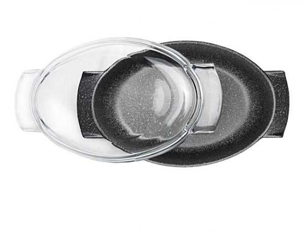 Утятница Risoli GRANIT с антипригарным покрытием, 36*24см, 00109FGR/36H