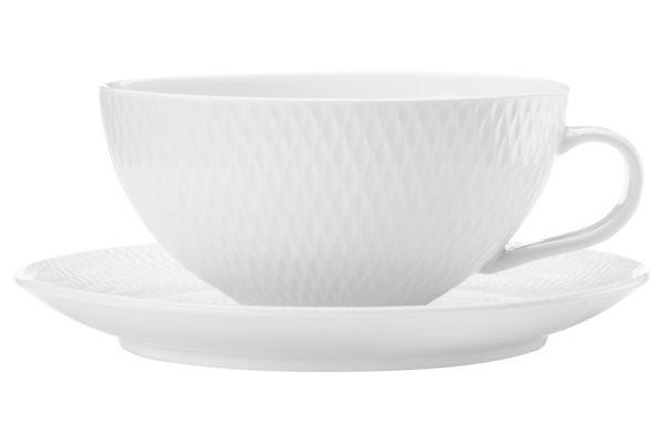 Чашка с блюдцем Даймонд без индивидуальной упаковки, MW688-DV0067
