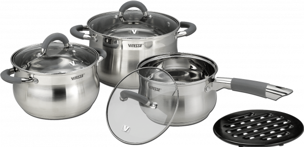Набор посуды Vitesse 7 предметов 4,175 кг VS-2039