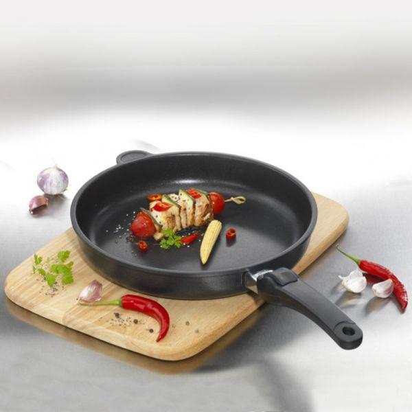 Сковорода глубокая 26 см AMT Frying Pans Titan со съемной ручкой AMT726