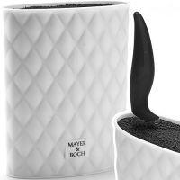 Подставка для ножей белая 22 см Mayer&Boch, 26989-2