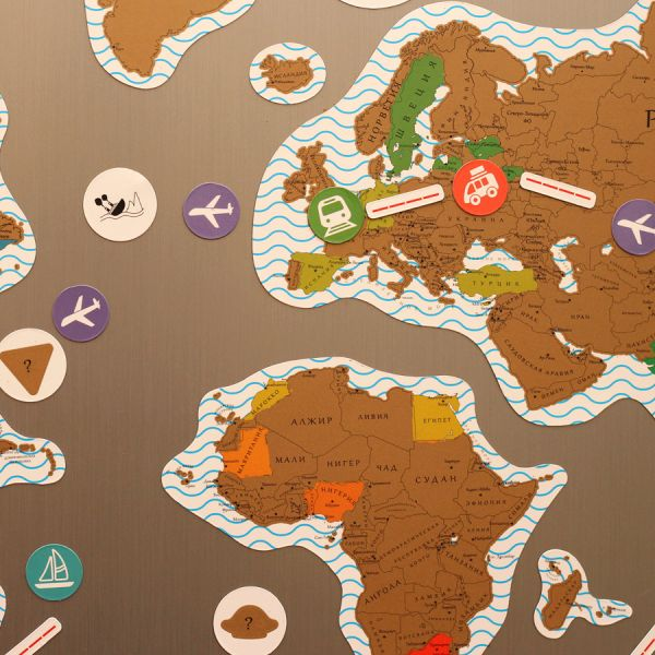 Карта true map puzzle (gold) 0029