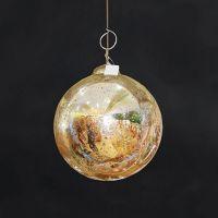 Новогодняя игрушка шар ROOMERS, Ksa/5491
