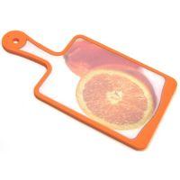Кухонная доска MICROBAN FLUTTO 35x18 см оранжевая FP-OO