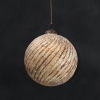 Новогодняя игрушка шар RESTORATION HARDWARE, AL 658170