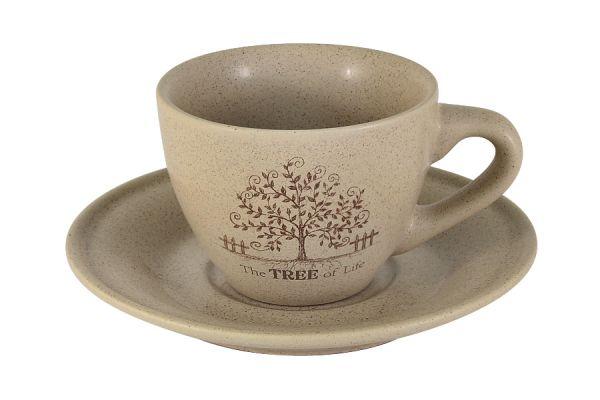 Чашка с блюдцем Дерево жизни, TLY314S2-TL-AL