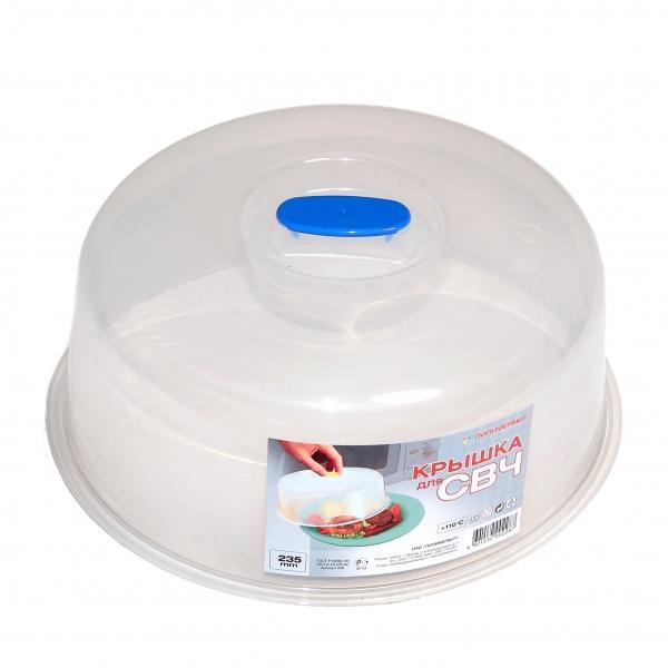 Крышка для СВЧ Полимербыт 23,5 см C228
