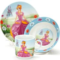 "Детский набор 3 предмета ""Принцесса"" LORAINE, 23393"