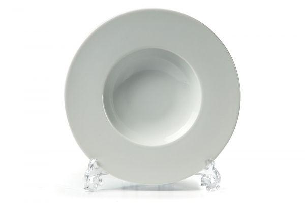 Тарелка глубокая широкий борт 27 см, Tunisie Porcelaine, серия ZEN
