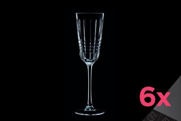 Набор бокалов для шампанского CRISTAL D»ARQUES RENDEZ-VOUS 6 шт 170 мл L8234