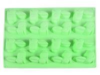 Форма для льда или шоколада 16 ячеек ЗАЙЦЫ 29*22,5*1,7 см, цвет ЗЕЛЕНЫЙ ЧАЙ FISSMAN, 6556