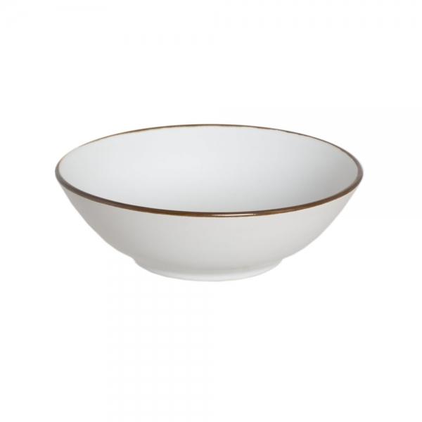 Тарелка суповая LILY TRACERY WHITE 20 см