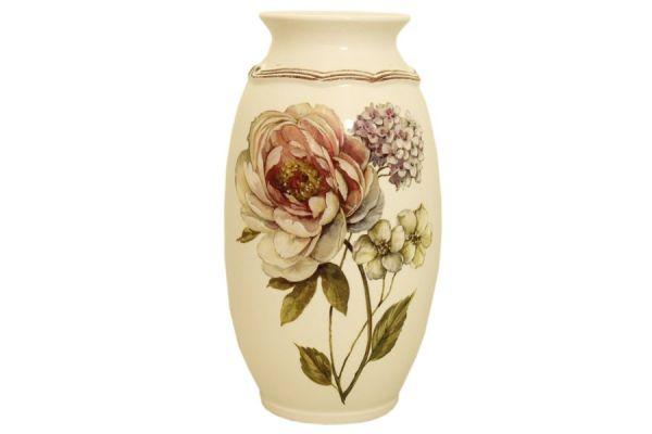 Ваза для цветов 30 см Сады Флоренции, LCS008_30-BO-AL