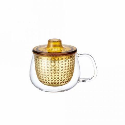 Кружка-чайник Kinto 350 мл стеклянная 22915