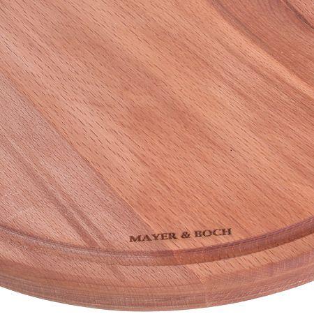 Разделочная доска из бука для подачи 30 см Mayer&Boch, MB-40016