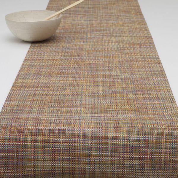 Салфетка Chilewich MINI BASKETWEAVE подстановочная жаккардовое плетение материал винил 36x48 см Confetti 0025-MNBK-CONF