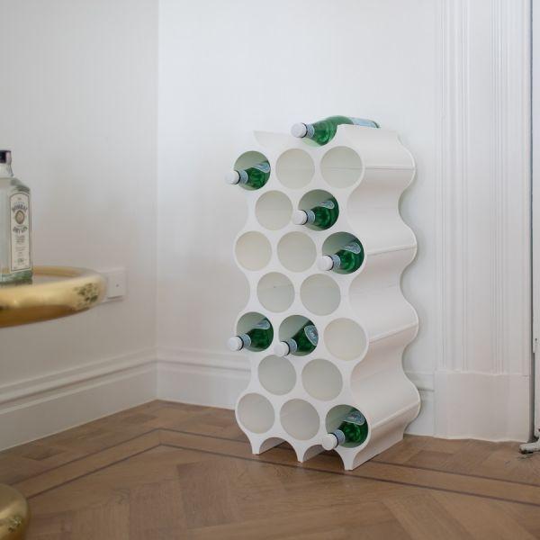 Подставка для бутылок Set-up organic серая 3596670