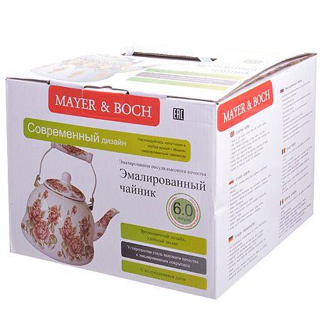 Чайник эмалированный 6 л с крышкой Mayer&Boch, 27992