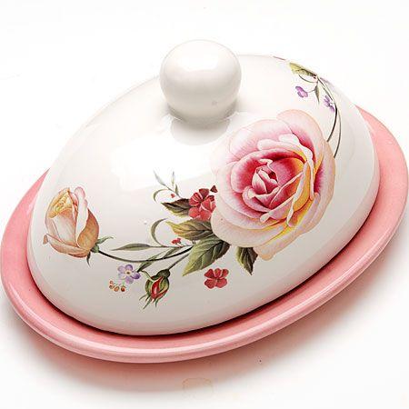 Маслёнка Loraine «НЕЖНОСТЬ» 10,5 см 2 предмета 25651