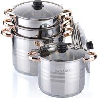 Набор посуды 8 предметов 6,8+8,6+10,6+12,9см, Mayer&Boch, 26703