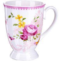 Кружка Loraine «Цветы» 330 мл 27879