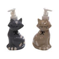 """Диспенсер для жидкого мыла """"Kidcat"""", 17 х 8 см в ассортименте керамика"""