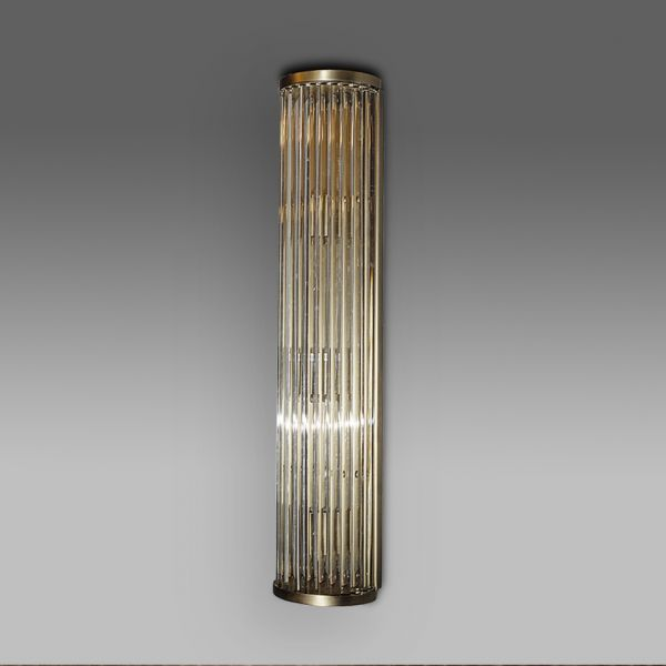 Бра ROOMERS 75x15 см KG0601W-3(mat ant brass)