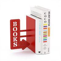 Держатель для книг Balvi BookShop красный 26815