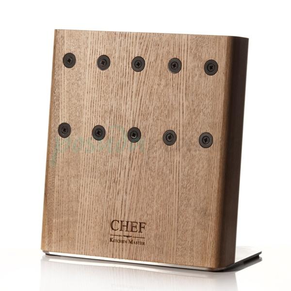 Подставка с магнитными держателями Chef для 5-ти ножей CH-003/NAT