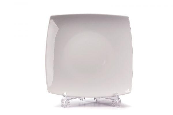 Тарелка квадратная без бортов 26 см, Tunisie Porcelaine, серия KYOTO