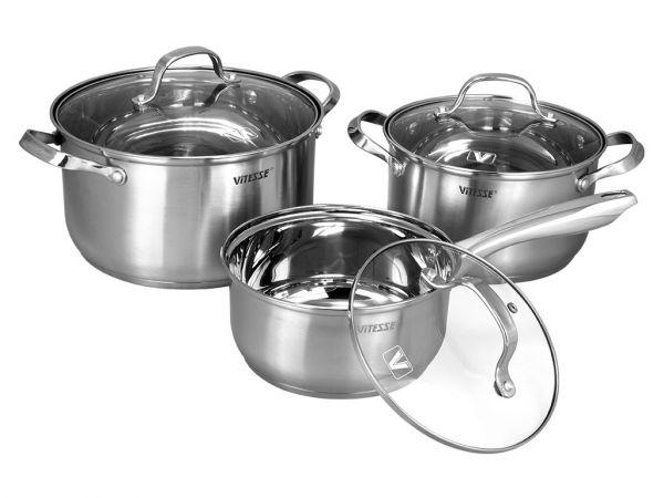 Набор посуды Vitesse Valentina 7 предметов VS-2058