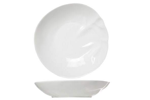 Тарелка для супа, 21,5 см (Фарфор) Twisted, COSY&TRENDY 3580548