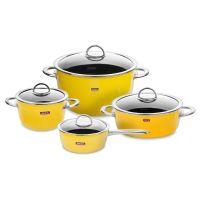 Набор посуды KOCHSTAR из 4-х предметов, цвет желтый NEO Yellow, YELLOW-2