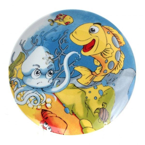 Тарелка десертная OCEAN FRIENDS 19см