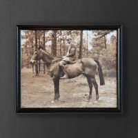 Картина ROOMERS «Мальчик на лошади» TO-AIPOT392BOHRFTZ