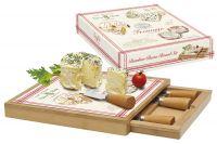 Набор для сыра Easy Life (R2S) FROMAGE доска, выдвижной ящик с 4-мя ножами в подарочной упаковке EL-0891_FRMA